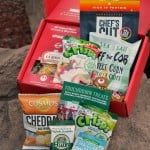 Love With Food gluten-free box is a great subscription box that is delivered to your monthly. It is carefully curated with the tastiest snacks and treats.