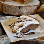 This peanut butter s'mores pie is decadent, delicious and full of classic s'mores flavor. It also has more than 15 grams of protein per slice!