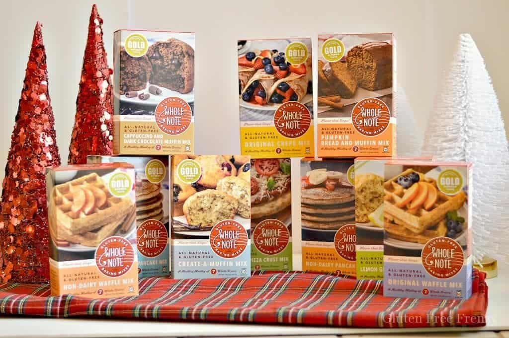Win the ENTIRE Whole Note Co. line of products and more this holiday during our 25 Days of Gluten-Free Giveaways™!