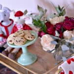Easy Valentines Day decor is a breeze to achieve with just a few great pieces.