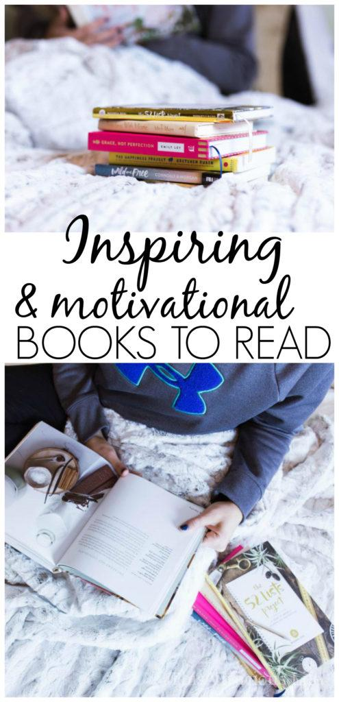 These inspiring books to read are going to motivate and uplift you while also bringing you so much joy. These are just the books you need... | best motivational books | what to read this year | books to read for women | life changing motivational books | motivational books for women || This Vivacious Life #motivationalbooks #inspirationalbooks #booksforwomen