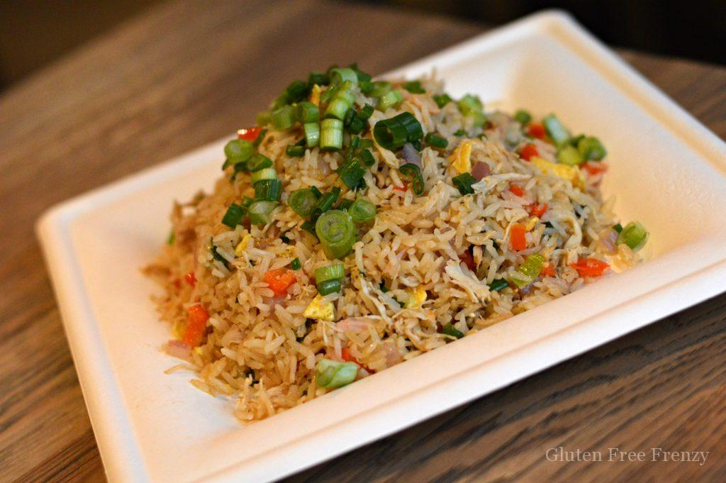 Fried rice with chopped green onion