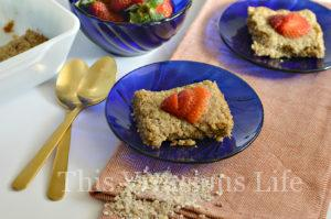 Gluten-Free Breakfast Bars