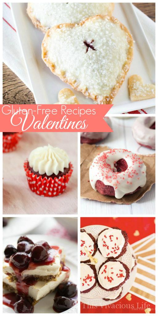 These gluten-free Valentines recipes are sure to WOW at your next v-day or galentines party. These desserts are as delicious as they are pretty. | gluten-free recipes for Valentine's Day | gluten-free holiday recipes | Valentine's Day recipes | easy Valentine's Day recipes || This Vivacious Life #glutenfreevalentinesday #valentinesdayrecipes #glutenfreerecipes