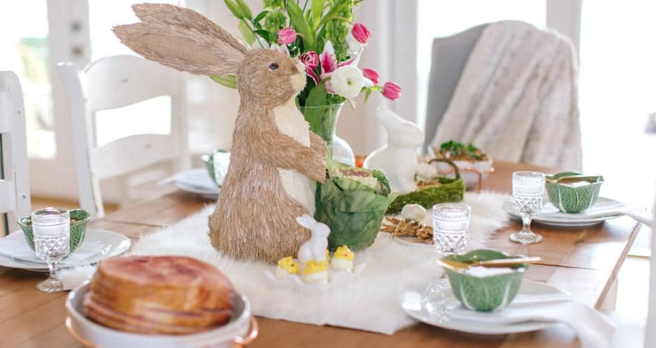 White House Easter Party & Edible Nests w/ Carrot Cake Eggs