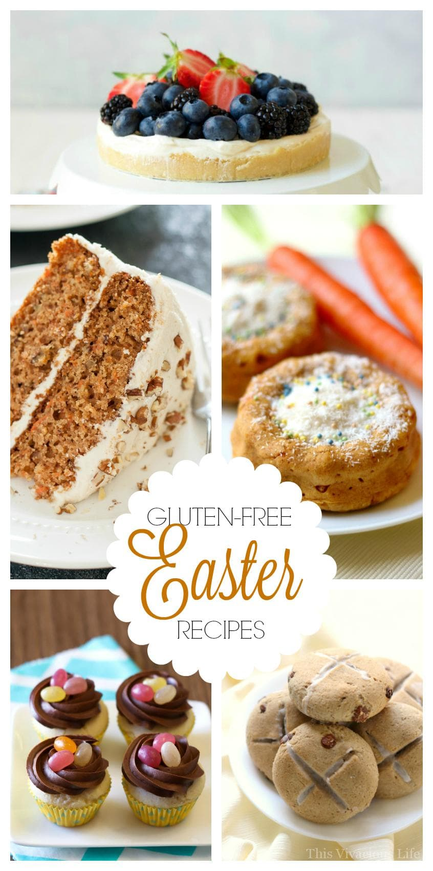 These gluten-free Easter recipes are all festive, flavorful and perfect for your next Spring Easter gathering.