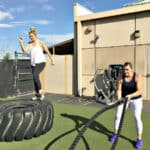 Our mom buddy fitness challenge is a great way to get back in shape as a busy mom. It isn't a fad diet but rather a challenge that can be continued on as a healthy lifestyle plan.