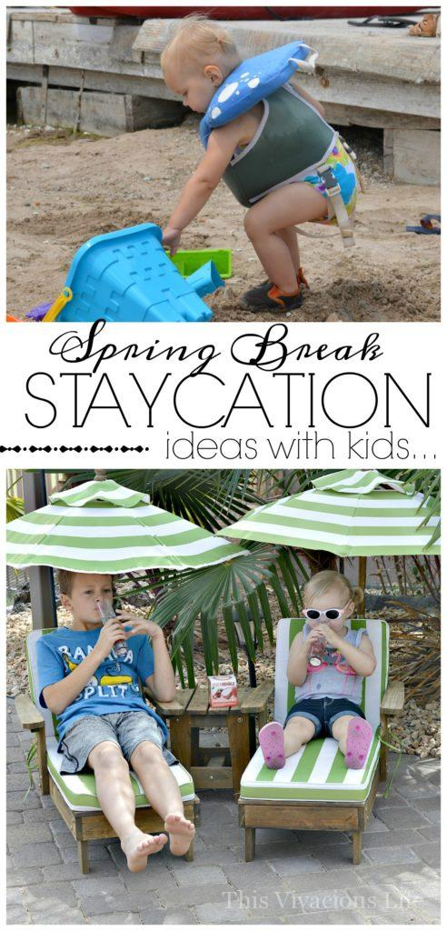These spring break staycation with kids ideas will help you create a memorable local vacation without breaking the bank. It's the perfect family vacation!