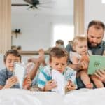 Establishing a reading routine for kids is something that will help them for the rest of their life. It will help them with their education and discipline.