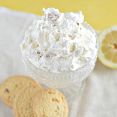 Lemon Ginger Cookie Salad