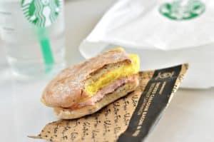 Starbucks Gluten-Free Sandwich