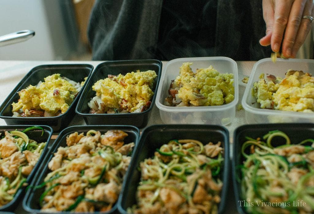 Healthy gluten-free meal prep is something that helps you stay on track and enjoy delicious meals all week long.