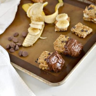 Chunky Monkey Granola Bar Treats