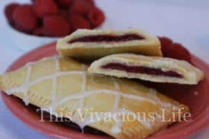 Gluten-Free Raspberry Toaster Pastry