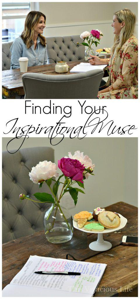 Finding your inspirational muse is something that will encourage you to push further, dream bigger and become the best creative you can become!