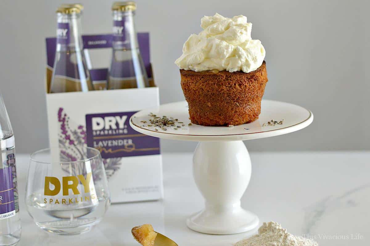 Gluten-Free Honey Cakes with Lavender Whipped Cream