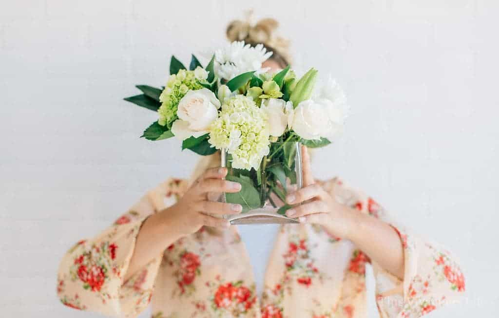Simple White Flower Arrangements Under $15