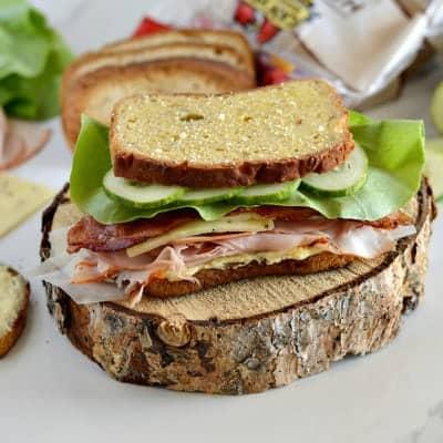 Big, Buff & Cheesy Gluten-Free Sandwich