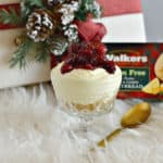 Everyone is going to love this cranberry lemon shortbread trifle this holiday season. It is perfect for serving up at your next Christmas party and it's even gluten-free!