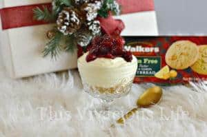 Cranberry Lemon Shortbread Trifle + GIVEAWAY