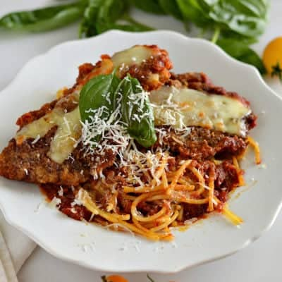 The BEST Gluten-Free Chicken Parmigiana
