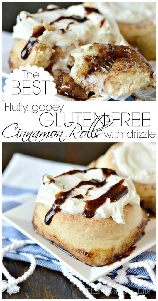 The BEST Gluten-Free Cinnamon Rolls That You Will Ever Eat | gluten free cinnamon roll recipes | how to make gluten free cinnamon rolls | homemade cinnamon roll recipe | cinnamon rolls gluten free | gluten free breakfast recipes | gluten free dessert recipes || This Vivacious Life #glutenfreerecipe #cinnamonrolls #gfrecipes