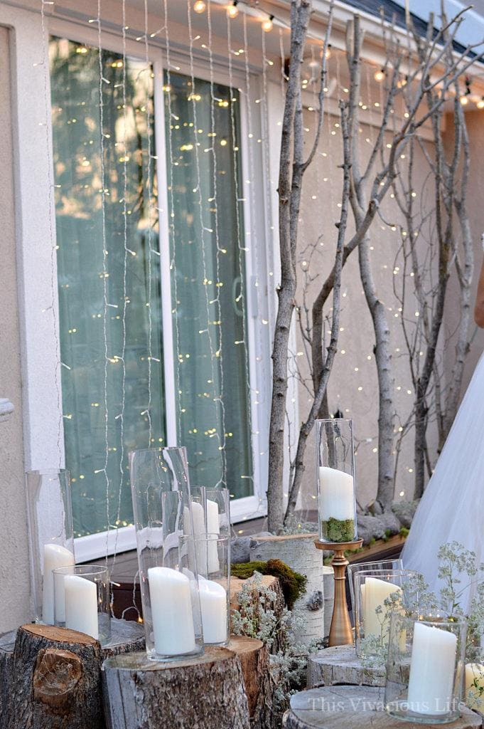 earthy outdoor wedding decor ideas
