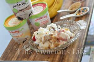 Easy Banana Split Bar