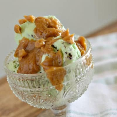 Peanut Butter Ice Cream Topping Two Ways & $300 Amazon GC Giveaway!