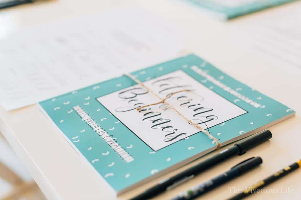 Art of Hand Lettering Vivacious Workshop