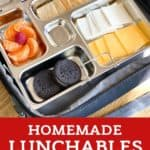 5-Minute Homemade Lunchables pin