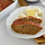 This is the BEST gluten-free meatloaf recipe! It is so easy to make and is even more wholesome than traditional meatloaf. The whole family will love how it tastes and won't even notice all the added whole grains and fiber.