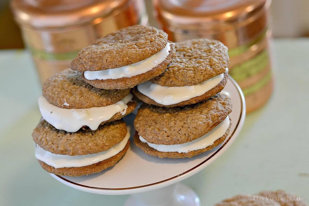 are little debbie oatmeal cream pies gluten free