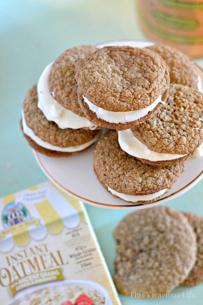 Gluten-Free Oatmeal Cream Pies Little Debbie Copycat