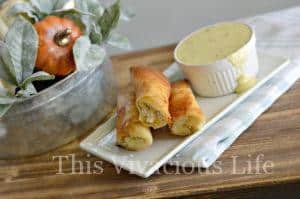 Turkey, Corn and Cream Cheese Fried Gluten-Free Flautas {Thanksgiving Leftovers}