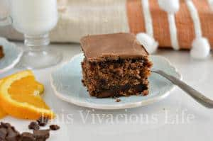 Gluten-Free Chocolate Orange Oatmeal Cake