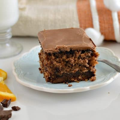 Gluten-Free Chocolate Orange Oatmeal Cake + GIVEAWAY