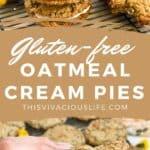 Gluten-Free Oatmeal Cream Pies pin
