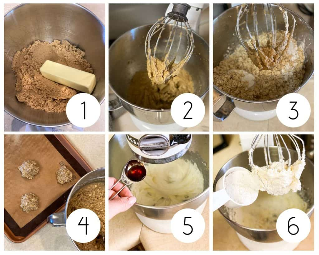 Gluten-Free Oatmeal Cream Pies step-by-step