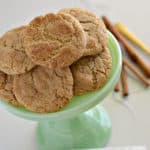 These gluten-free snickerdoodles are the BEST! They are soft, chewy and so delicious that nobody would ever know they are gluten-free!