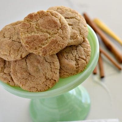 Gluten-Free Snickerdoodles PLUS a Bosch GIVEAWAY!