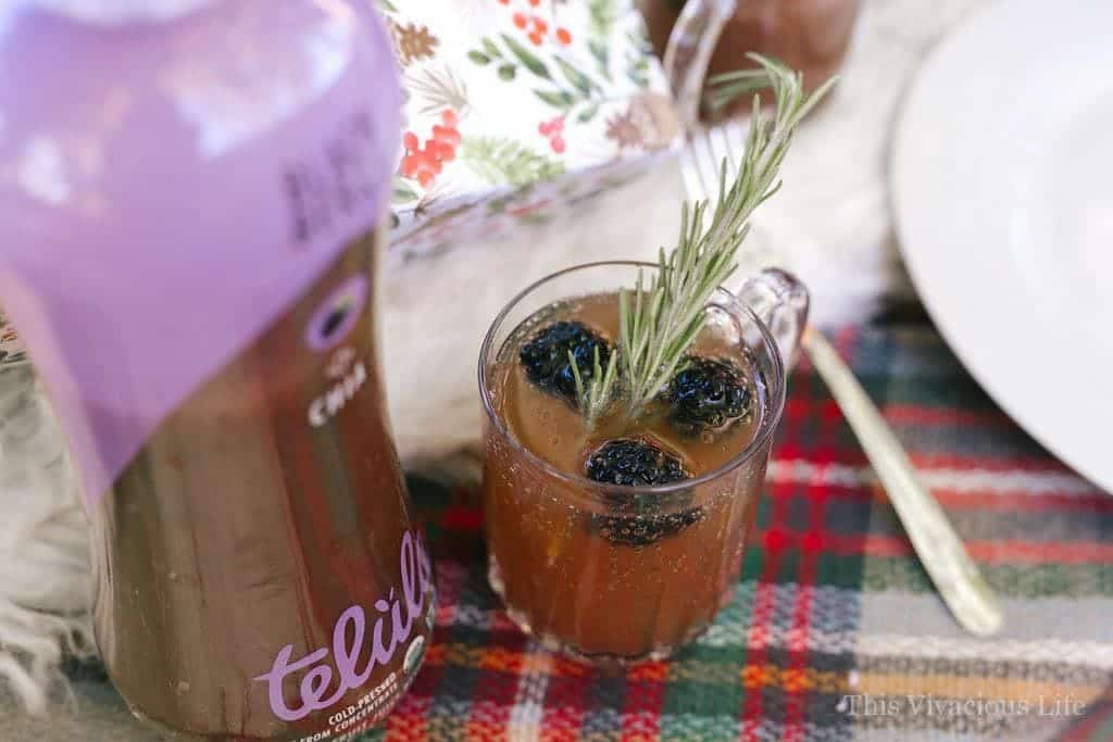 Blackberry Rosemary Mocktail