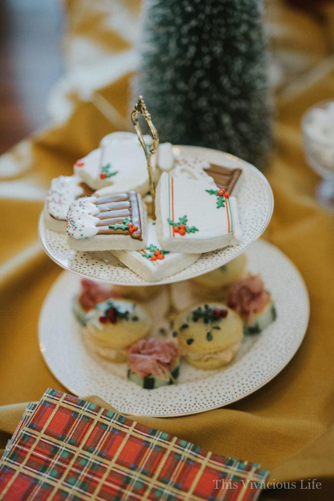This holiday traditions and tea party is a fun way to celebrate the holidays with your favorite gals making Christmas Eve boxes and enjoying a traditional tea party.
