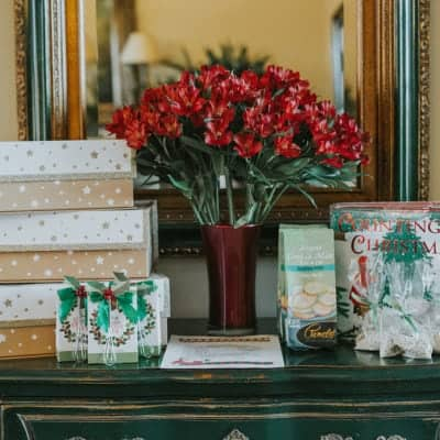 Holiday Traditions and Tea Party, Cranberry Almond Scones + GIVEAWAY