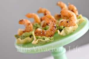 4-Ingredient Guacamole Shrimp Cups