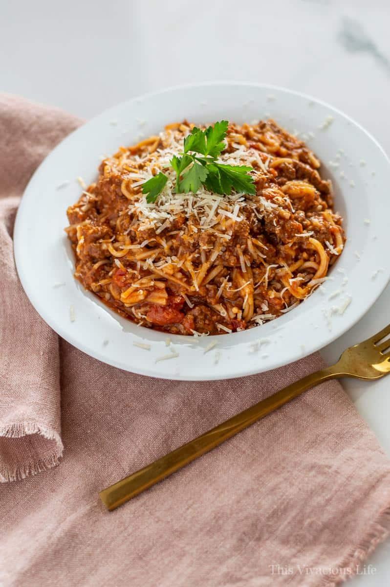 best instant pot spaghetti glutenfree option  this