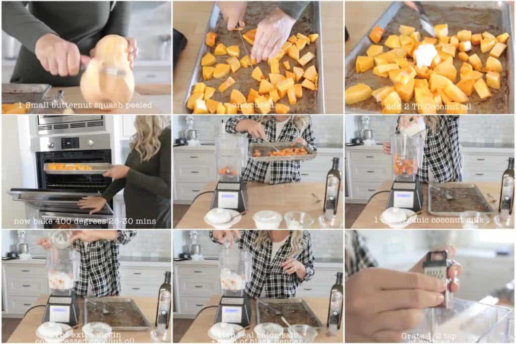 Whole30 butternut squash soup directions