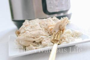 Instant Pot Creamy Italian Chicken