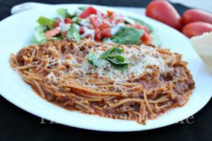 Instant Pot Gluten-Free Spaghetti