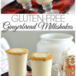 I love making these gluten-free gingerbread milkshakes because they are so easy and pack in the holiday flavors.